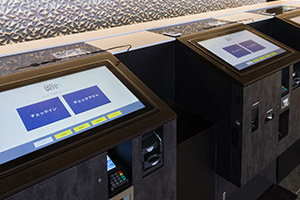 Self check-in terminal